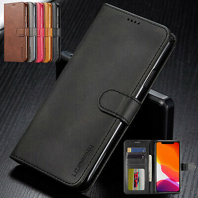For iPhone 11 Pro Max 2019 Case Luxury Magnetic Leather Card Holder Wallet Cover
