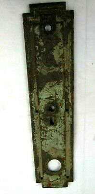 Vintage Brass Keyhole Escutcheon ,  Door Lock Cover Back Plate