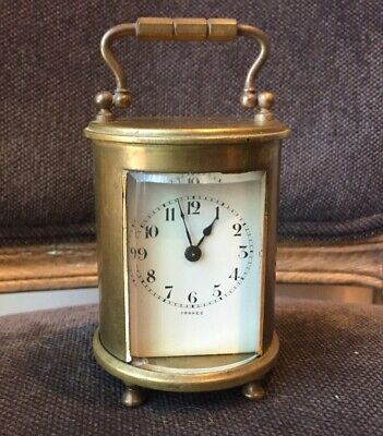 Antique French Charles Hour Carriage Clock Ch France