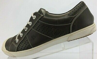 Josef Seibel  Fashion Sneakers Lace Up Brown Comfy Leather Shoes Womens 40 9,9.5