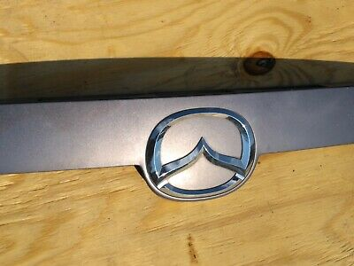 OEM Mazda 6 Liftgate Tailgate Trunk Garnish Trim Emblem Pacific Blue