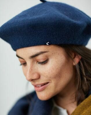 Joules Womens Wilsford Felted Berret in FRENCH NAVY in One Size