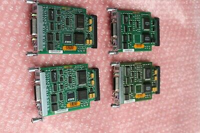 LOT OF 4 X Cisco WIC-1T 1-Port Serial WAN Interface Card