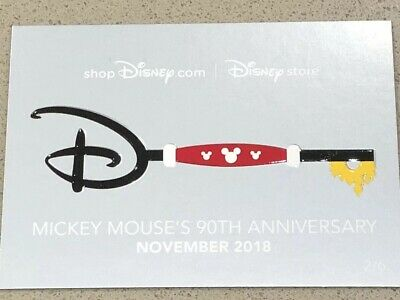 2019 D23 Expo Disney Store Exclusive Friday Key Trading Cards 2/6