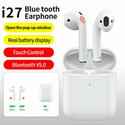 Wireless Bluetooth Headphones For Earpods Apple iPhone 7 8 X XR XS& Charger Case