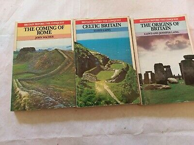 3 history books Britain Before the Conquest coming of rome celtic origins