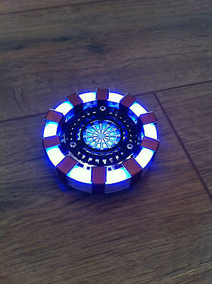 Arc Reactor Wearable Heart Prop for Iron Man Cosplay