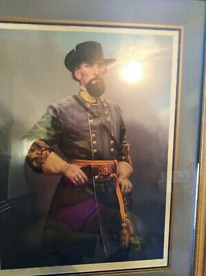 general nathan Bedford Forrest  print by michael gnatek jr.  #1 of 250
