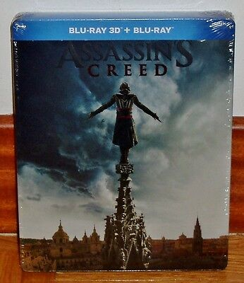 Assassin ´ S CREED Blu-Ray 3D + Steelbook Neuf (sans Ouvrir) R2