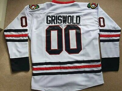 Clark Griswold #00 X-Mas Christmas Vacation Movie Ice Hockey Jersey Stitched Men