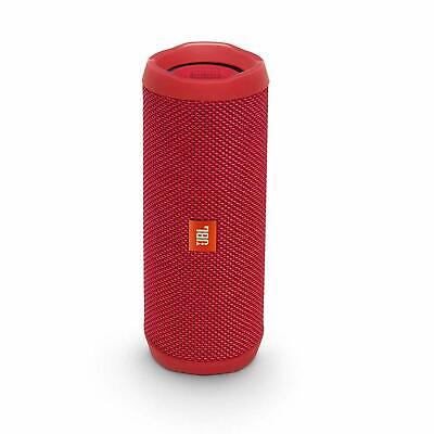 JBL Flip 4 Bluetooth Portable Stereo Speaker - Red