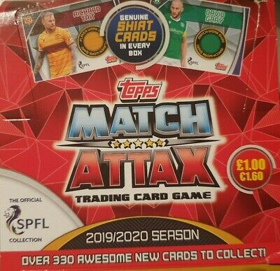 Topps Match Attax 2019/20 Spfl Premier Club Badge Star Player Base No's 217-306