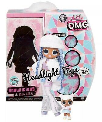 LOL Surprise WAVE 2 SNOWLICIOUS OMG Fashion Doll SNOW QUEEN Winter Disco Presale