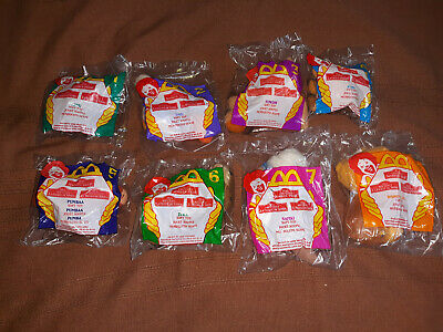 lion king mcdonalds toys 1998 rare mini plush set Lion King 2: Simba's Pride