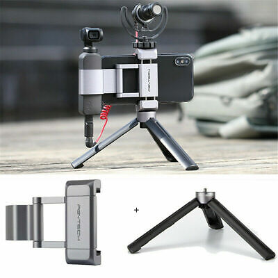 Pocket Handheld 3 Axis Gimbal Stabilizer Tripod Phone Mount  FOR DJI Osmo 2019