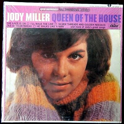 Jody Miller Queen Of The House 1965 Vg+(+) / Vg++ Factory Shrink Country