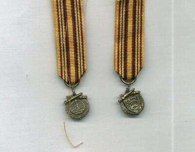 One Full Size DUNKIRK Medal with correct but unusual Suspender