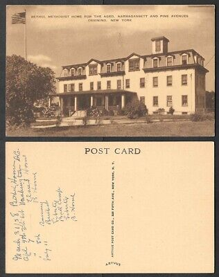 Old Postcard - Ossining, New York - Bethel Methodist Home for the Aged