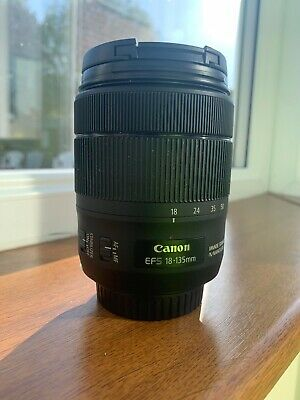 Canon EF-S 18-135mm F3.5-5.6 IS USM Lens Mint Condition