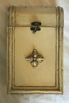 Wine Gift Box For 2 Bottles - Top Quality - Solid Wood - Antique Vintage Effect.
