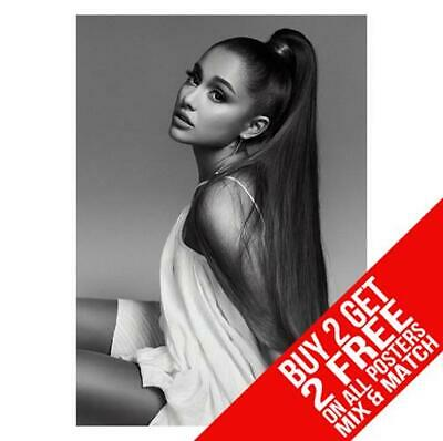 Ariana Grande Bb1 Poster Art Print A4 A3 Size - Buy 2 Get Any 2 Free