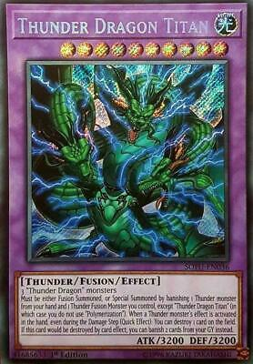 Yugioh Complete Thunder Dragon Deck with Sleeves **Tournament Rdy* + Bonus Card!