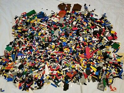 20 lbs Pounds Vintage LEGO Parts w/Variety of Pieces Sets  HUGE LOT