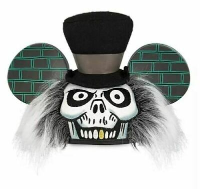 Disney The Haunted Mansion Hatbox Ghost Mickey Mouse Ear Hat In Hand