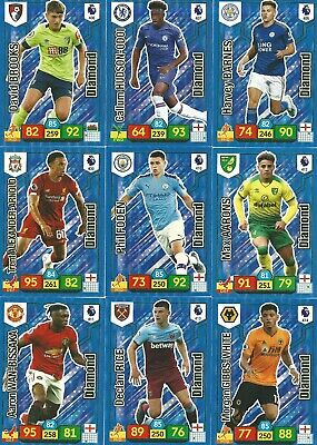 Panini Adrenalyn Xl Premier League 2019/20 - 'Diamonds' - Pick Your Player !