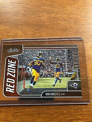 2019 Panini Absolute Football Red Zone 2 Todd Gurley II