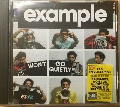 example: won't go quietly [Parental Advisory] (Ministry of Sound, 2010) 2 CDs