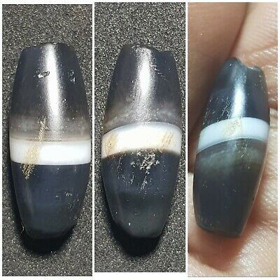 Very old sulaimani banded agate beads