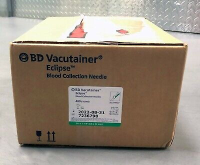 BD Vacutainer 368607 Eclipse Collection -- Case of 10 X 48
