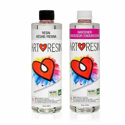 High Gloss Clear Coat Epoxy Resin for All Your Creative Projects (2 Pack) 32oz