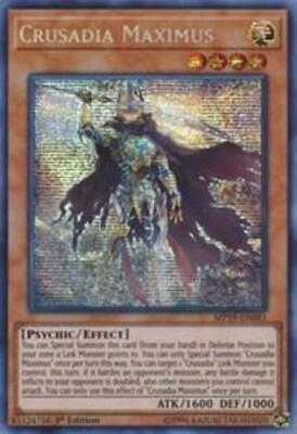 Yugioh Crusadia Maximus MP19-EN081 Prismatic Secret Rare 1st Edition NM