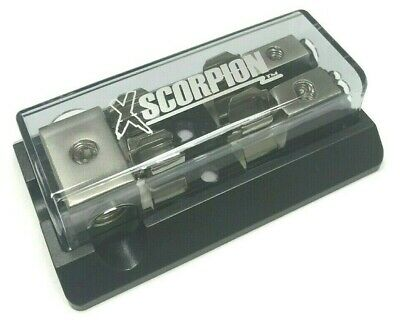 Agu Fuse Platinum Distribution Block (3) 4 Ga In Two 8 Gauge Awg Out 12 Volt Usa