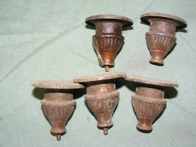 Bobeches from 19th Brass for Candle Holders Ouappliques