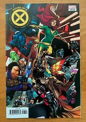 House of X 3 Asrar Connecting Variant  Marvel 2019 NM