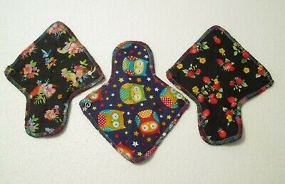 3 x Ultra Slim Reusable Chemical Free Panty Liners for Everyday Use - Aust.Made