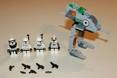 Lego Star Wars Clone Walker Battle Pack 8014 100% 4 Minifigs Free Shipping USA