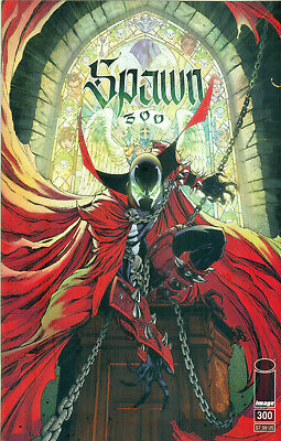 Spawn #300 McFarlane Capullo 1st She Spawn J Scott Campbell Variant G Image NM/M