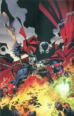 Spawn #300 McFarlane Campbell 1st She Spawn Capullo Virgin Variant D Image NM/M