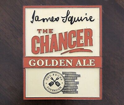 James Squire - The Chancer Golden Ale - Tap / Badge - Decal - Mancave - Bar