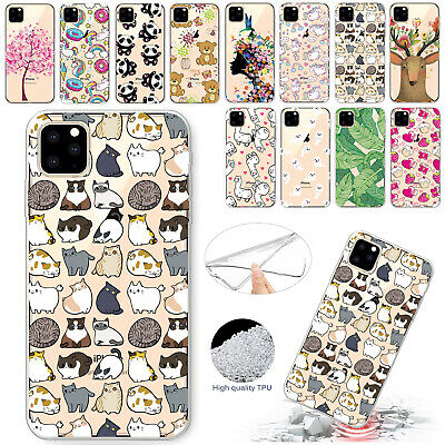 For iPhone 11 Pro Max Case 11 Pro Ultra Slim Rubber Clear Soft TPU Gel Cover