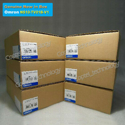 Genuine New in Box Interactive Display for Omron NS10-TV01B-V1 DHL Fedex Post