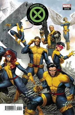 Powers of X #4 Molina Connecting Variant Marvel X-Men 2019