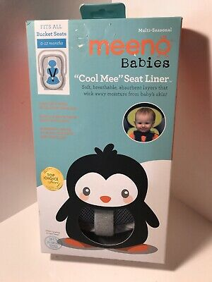 Cool Mee - Bucket Seat Liner - 0-12 Months - Silver By Meeno Babies