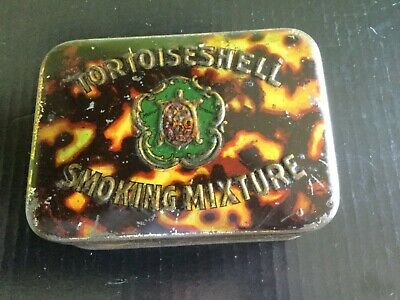 W.A. & A.C. Churchman's Tortoise Shell Tobacco Tin