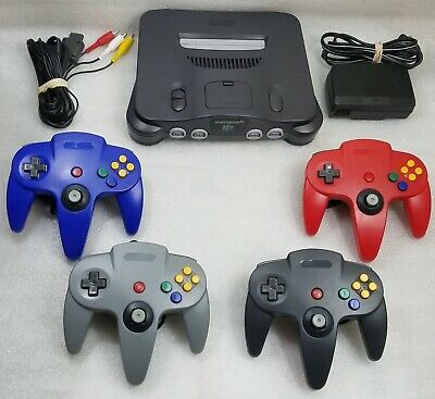 Nintendo 64 N64 Console System Choose Controllers *LIKE NW* RECONDITIONED IN/OUT