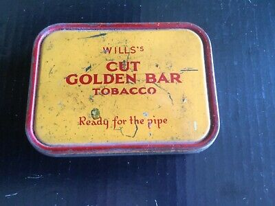 Wills's Cut Golden Bar Tobacco Tin